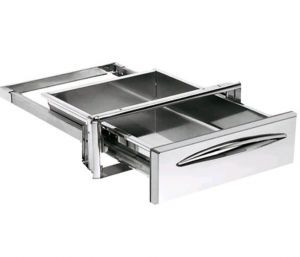 Tiroir de service en acier inoxydable ICCSP40, profondeur du tiroir 44,4 cm