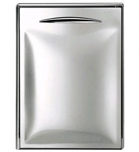ICSP60-DX Ouverture simple de la porte en acier inoxydable vers la droite. Joint magnétique interchangeable