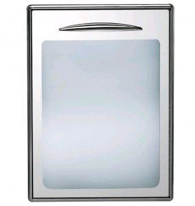 ICSPV60-DX Porte simple en verre ouvrant vers la droite. Joint magnétique interchangeable