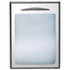 ICSPV60-SX Porte en verre simple ouvrant à gauche, joint magnétique interchangeable