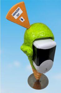EG-IGI1 Cono gelato con inserito distributore automatico elettronico di sapone liquido