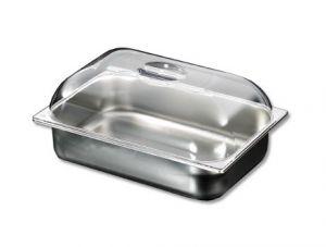 VGCV010 Couverture dome en polycarbonate transparent bacs à creme glace dim.360x250 mm