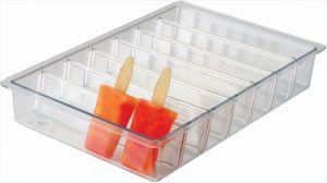 VGGR10P Vaschetta per esposizione ghiaccioli su stecco in policarbonato