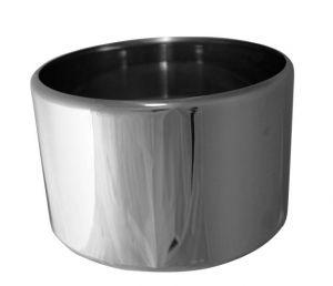 VGCV00-2 Mezza carapina in acciaio inox professionale diam.mm 200x125 h