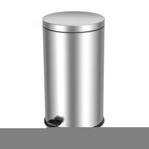 T101400 Stainless Steel Pedal bin 40 liters Soft close