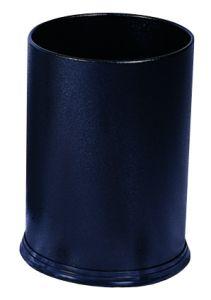 T103031 Black steel Paper bin 12 liters