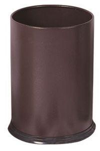 T103032 Corbeille à papier Métal marron 12 litres