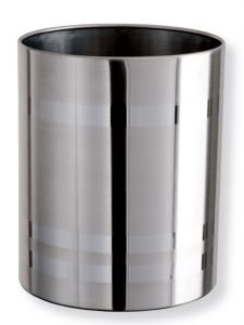 T103035 Polished stainless steel Paper Bin 11 liters
