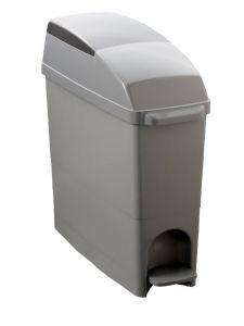 T104080 Hygiene sanitary plastic waste Bin Grey 18 liters