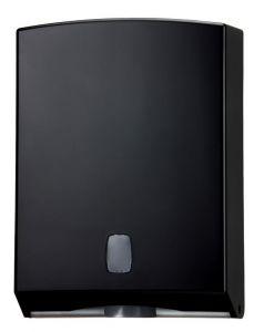 T104220 Towel paper dispenser black ABS 400 sheets
