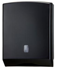T104226 Towel paper dispenser black ABS 500 sheets