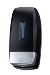 T104240 Distributore di sapone liquido ABS nero 0,5 litri