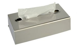 T105051 Polished Stainless steel handkerchiefs dispenser