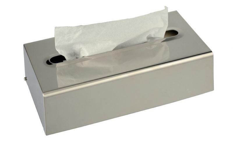 Porta fazzoletti acciaio inox for Satinato significato