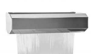 T105401 Distributeur murale pour rouleau d'aluminium ou film transparent inox AISI 304 MAXI