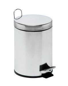 T106405 Pedal bin with galvanized steel inner bucket 5 liters (Pack of 4 pieces)