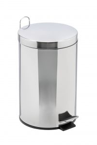 T906705 AISI 304 stainless steel pedal bin 5 liters