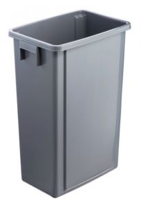 T114200 Grey polypropylene bucket 60 liters