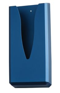 T130015STBL Sanitary towel bag dispenser blue ABS soft-touch