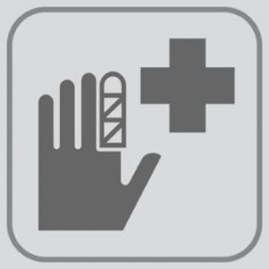 T709928 Placa PVC adhesivo Enfermeria (Multiplos 5 pcs)