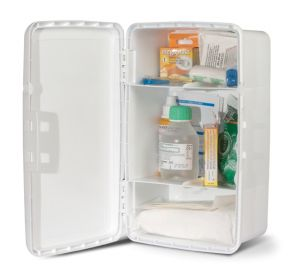T702017 Wall cabinet + First aid supplies kit for up to 2 people