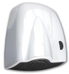 T704125 Push botton hand dryer ABS white