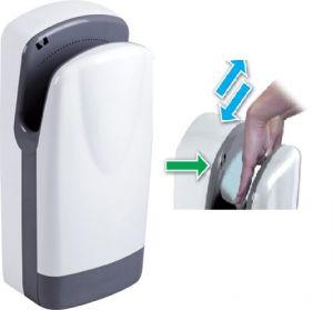 T704200 Asciugamani elettrico a fotocellula alte prestazioni ABS bianco