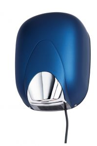 T704300STBL High performance automatic hand dryer blue ABS soft-touch
