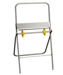T707005 Porte-rouleaux de papier industrielle sur pieds Acier inoxydable AISI 304