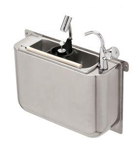 LVPCARPG Lavaporzionatore inox carenato GOLD con rubinetto e doccetta