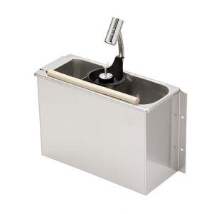 LVPCARS Lavaporzionatore inox carenato STANDARD con doccetta