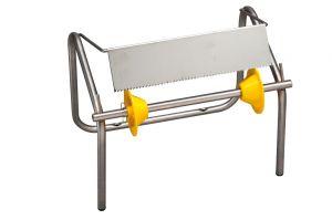 T753233 Porte-rouleau industriel murale/comptoir acier inoxydable AISI 304