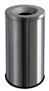 T770020 Gettacarte antifuoco acciaio inox satinato 90 litri