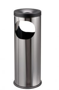 T775020 Stainless steel Ashbin 2 openings 19 liters