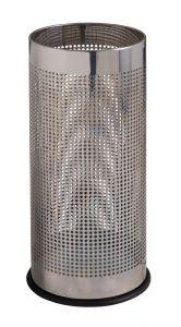 T775110 Paragüero cilíndrico perforado en acero inox
