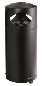 T776000 Recycling waste bin with ashtray for outdoor areas 3x35 liters