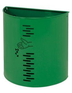 T778052 Waste paper in green steel external 20 liters