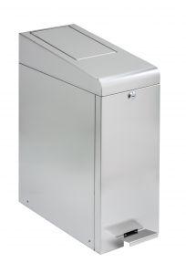 T110520 Stainless steel Push opening waste bin