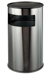 T790610 Papelera-cenicero acero inox 50 litros