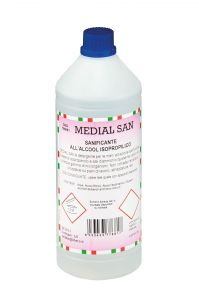 T799051 Sanimed Liquid sanitizer 1 lt (Pack of 12 pieces)