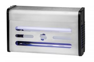 T903004 Stainless Steel 30 Watts Glue board flying insect killer in neon