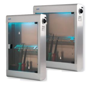 T903022 Stainless steel Knife sterilizer UV cabinet 20 knives