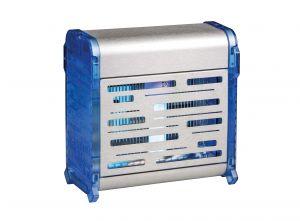 T903071 Sterminatore d'insetti acciaio inox Blu con griglia elettrica Insettivor Fluo 20W