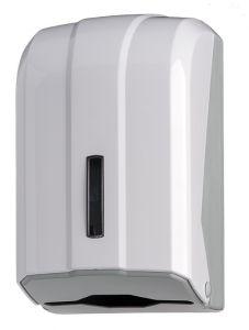 T908025 Distributore carta igienica interfogliata 300 fogli ABS bianco