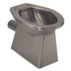 Desagüe de piso de carenado de inodoro de acero inoxidable LX3000 520x365x375 mm - SATIN -