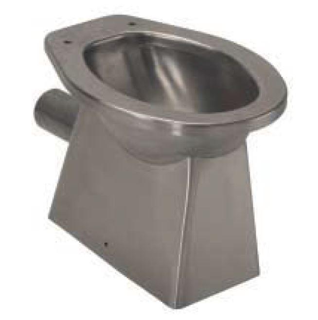 LX3000 WC in acciaio inox carenato scarico pavimento 520x365x375 mm ...