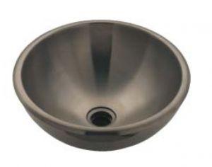 LX1220 Vasque à poser double paroi en acier inoxydable 375x415x160 mm -LUCIDO-