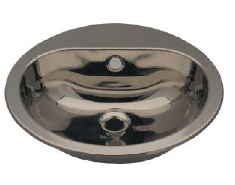 Lx1240 lavabo circolare con foro rubinetto in acciaio inox for Satinato significato
