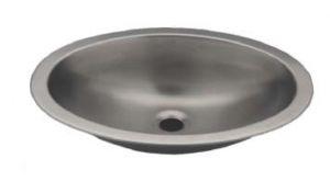 LX1310 Vasque ovale en acier inoxydable 380X280X125 mm - LUCIDO -