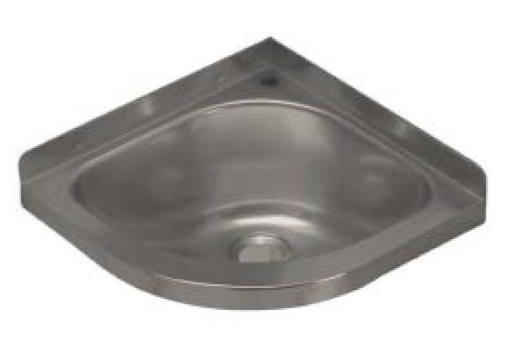 Lx1480 lavabo angolo con foro rubinetto in acciaio inox for Satinato significato